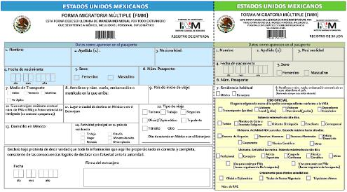 FMM | Immigration | Mexico | Visasmex
